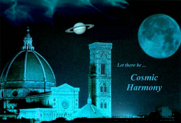 Let there be:  Cosmic Harmony